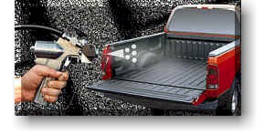 Sprayed-On Truck Bedliners:  Truck Accessories
